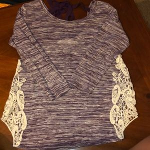 3/4 long sleeve shirt